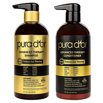 Pura D'Or hair care products