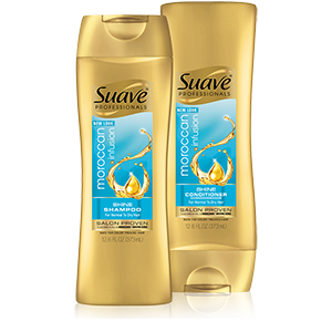 Suave hair care products